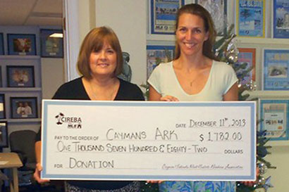 Cayman Islands Real Estate Brokers Association Donates to Cayman's ARK
